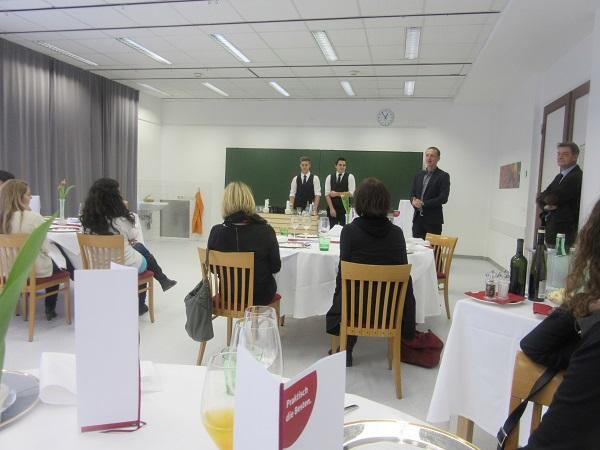 Präsentation der Tourismusschule im WIFI St. Pölten